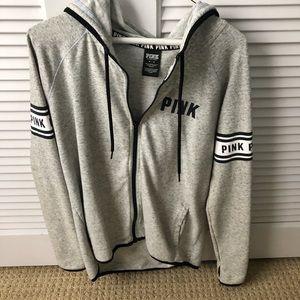 Pink Girls Sweatshirt Zip up